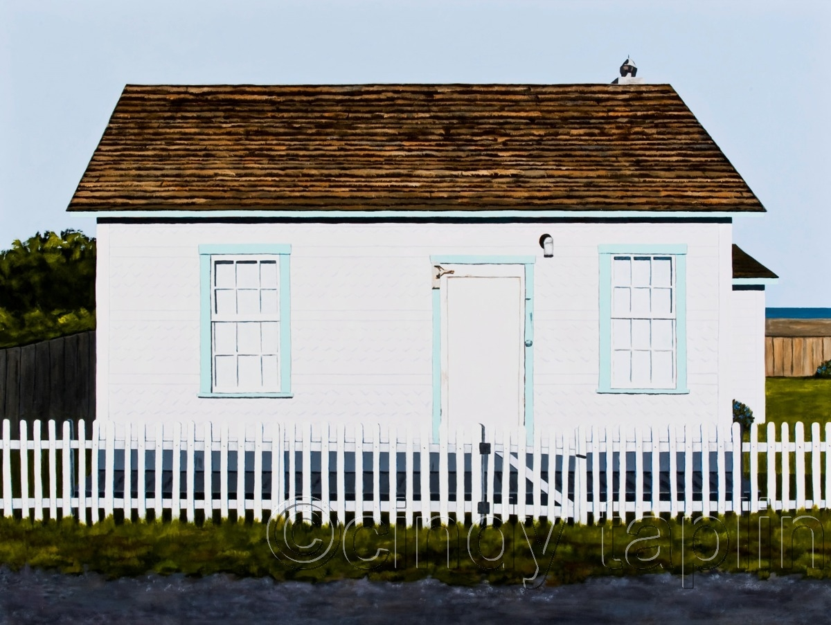 An Ocean View and a Pickett Fence (large view)