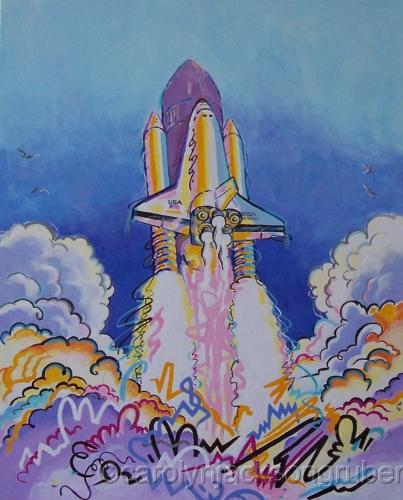 Lift Off ! by Carolyn Jackson Gruber l Fine Art