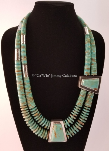 Double Strand Side and Center Boxes by CaWin Jimmy F Calabaza