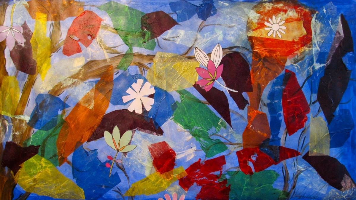 PAINT & PAPER FLOWERS (large view)