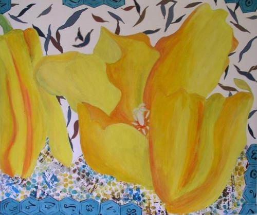 Yellow Tulip by Charlotte Kirkholt