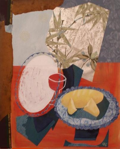 Still Life with Fish by Charlotte Kirkholt Ferri