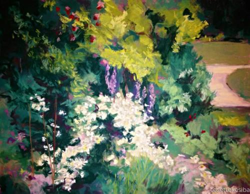 Summer Garden by Cosette Kosiba