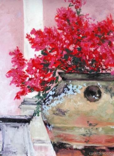 Buganvilias by Cosette Kosiba