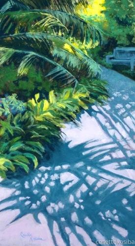 Walk Under the Palms by Cosette Kosiba