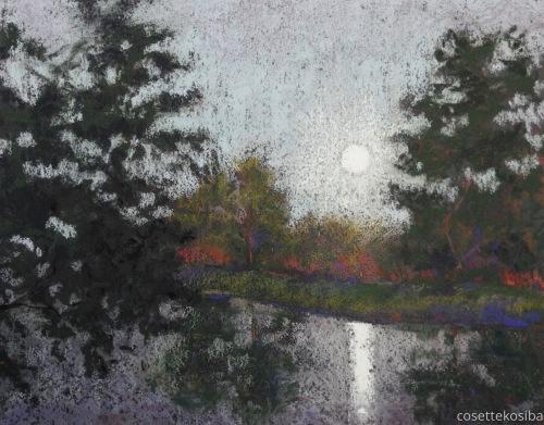 Moon Rise by Cosette Kosiba