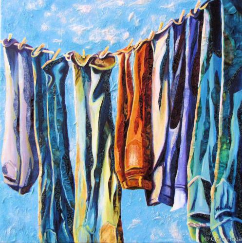 Wash Day Blues by Clara Hada