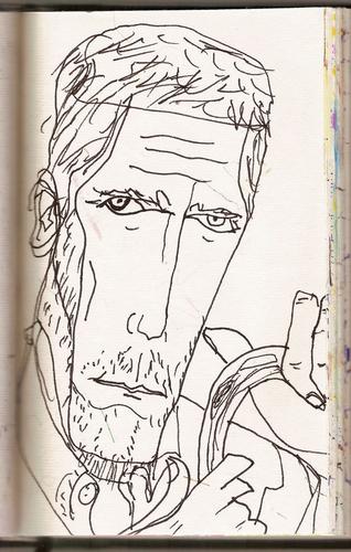 """Hugh Laurie as """"House"""""""
