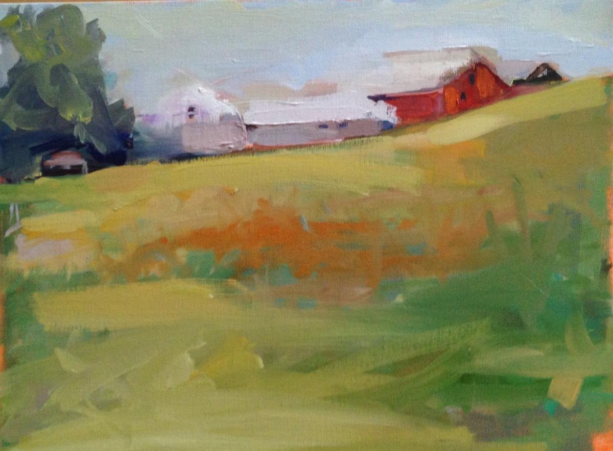 Farmscape, Johnson VT (large view)
