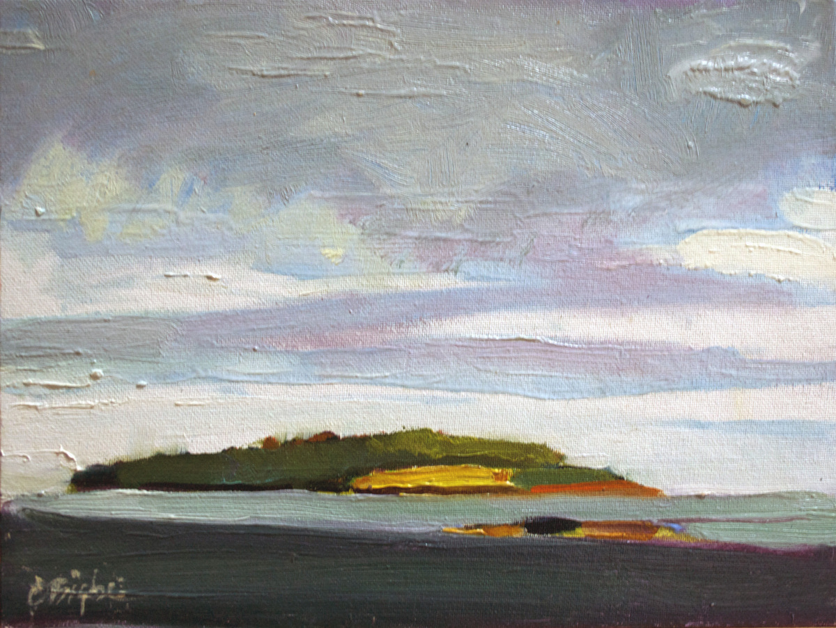 """""""Baker's Island"""" Cranberry Isles, ME (large view)"""