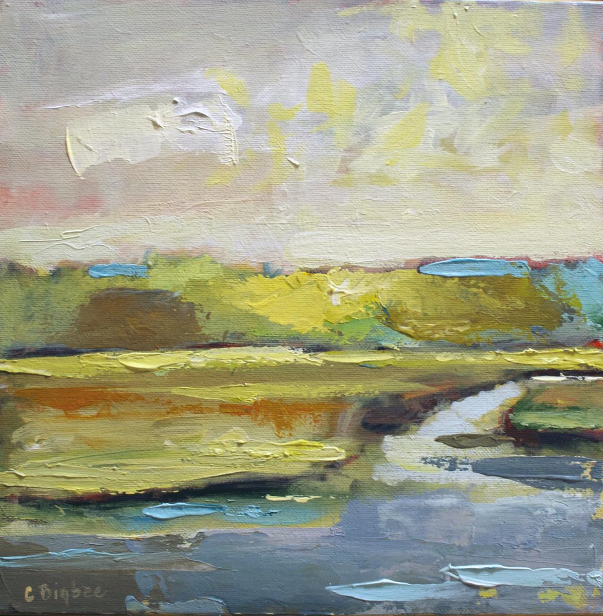SALT MARSH, OGUNQUIT RIVER (large view)