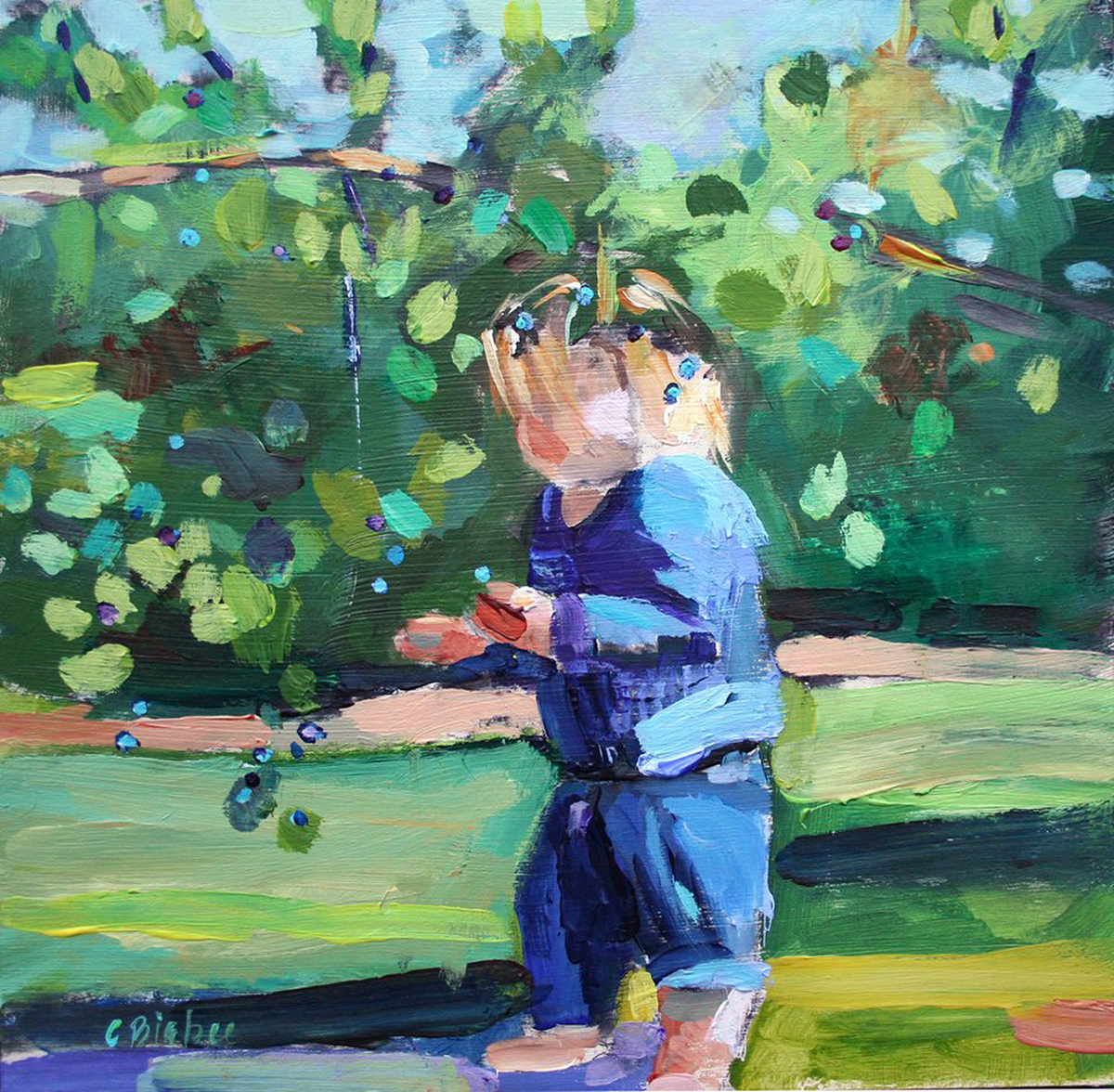 'Blackberry-Picking'  (large view)