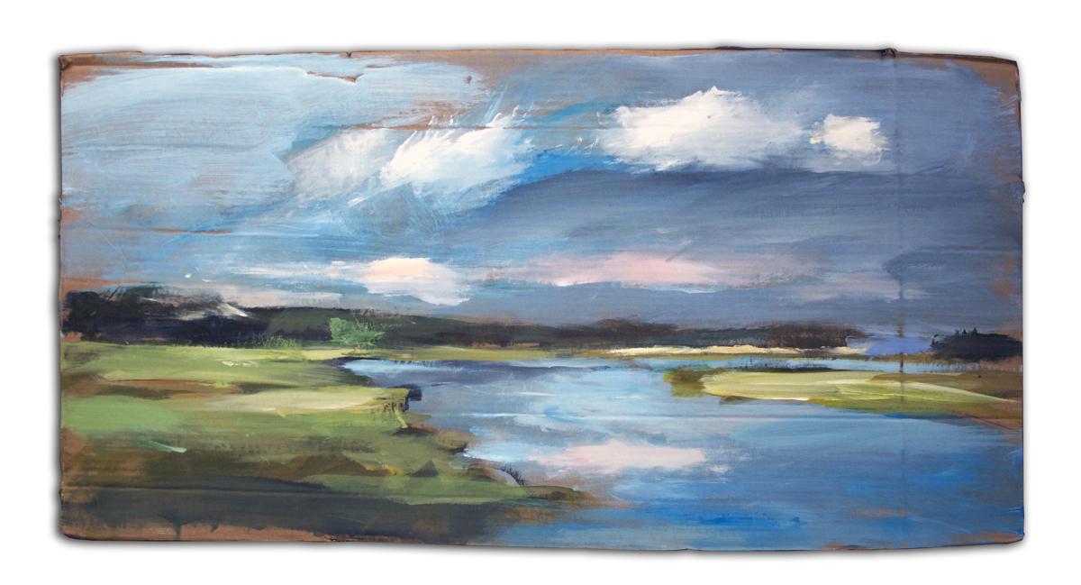 River Saltmarsh Study #1 (large view)