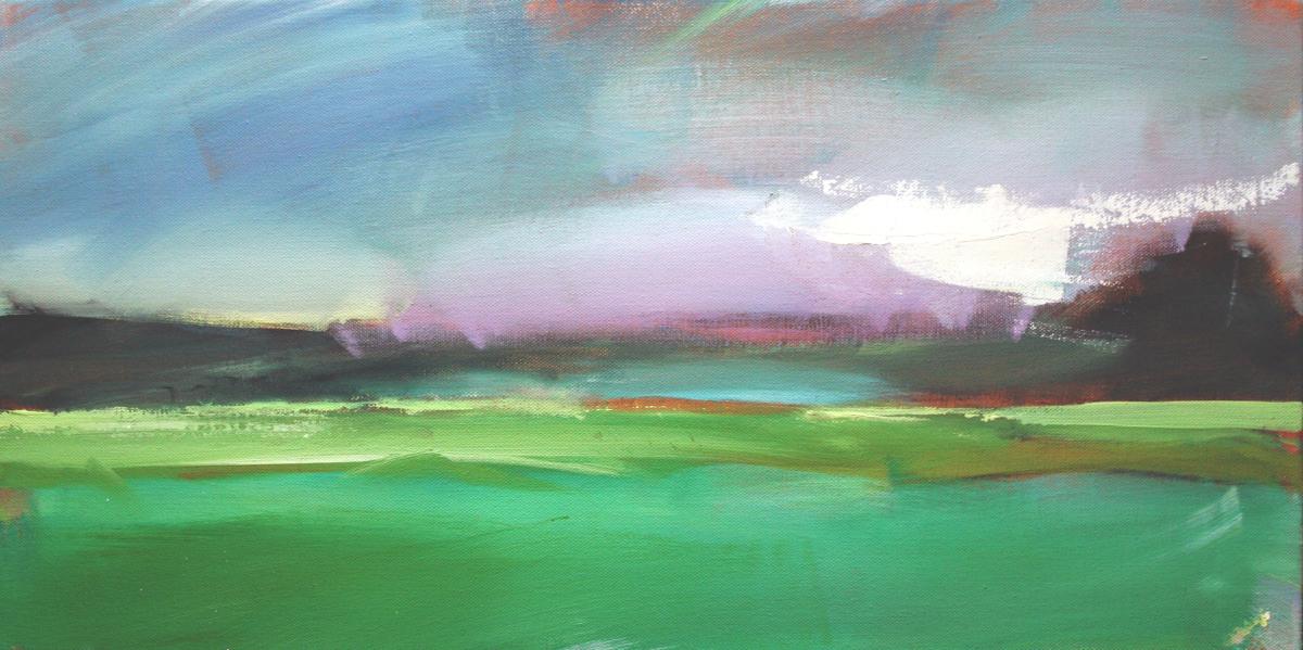 """Violaceous Sky""  Salt Marsh Collection #3 (large view)"