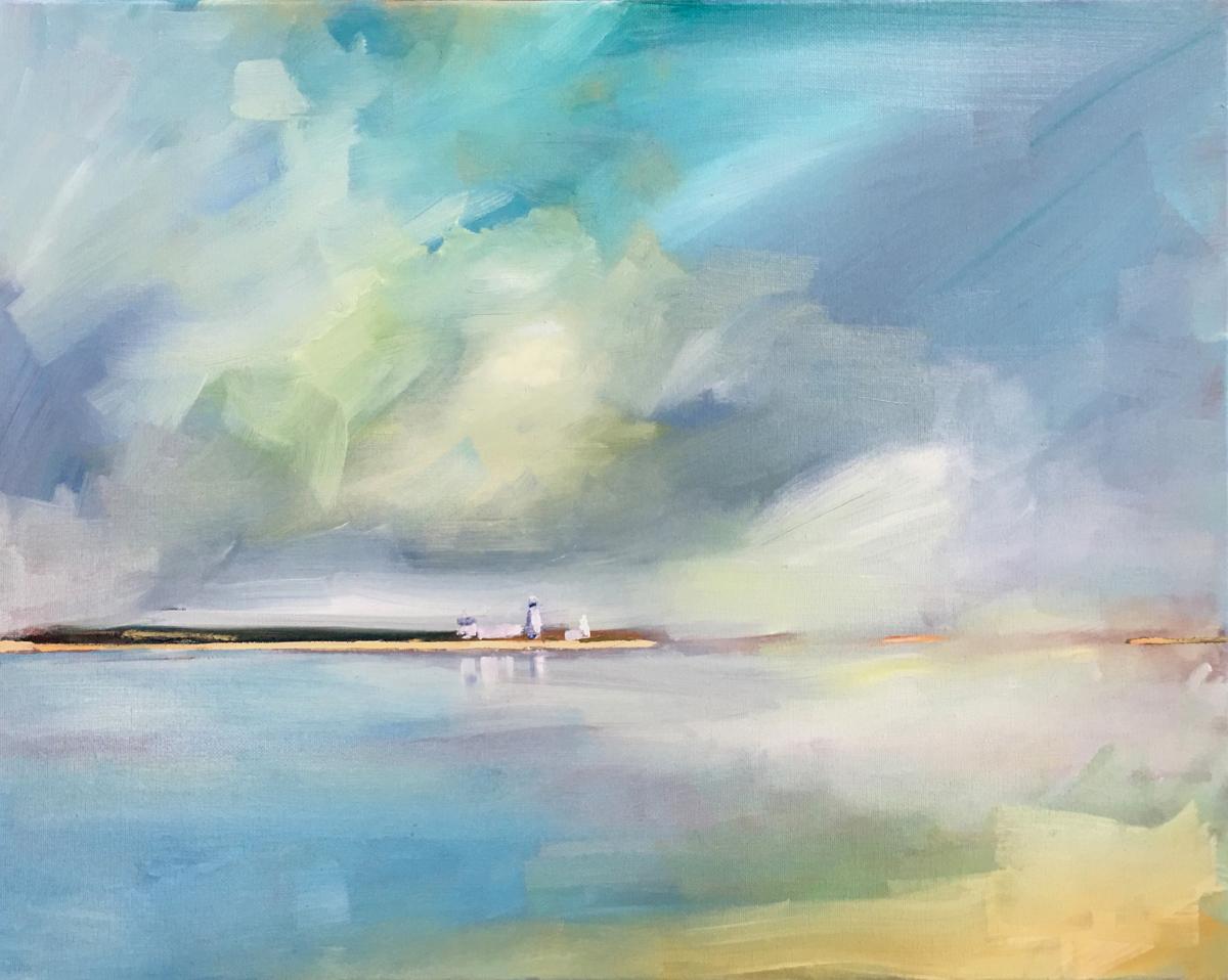Serene Skies & Blue Sea #1 (large view)