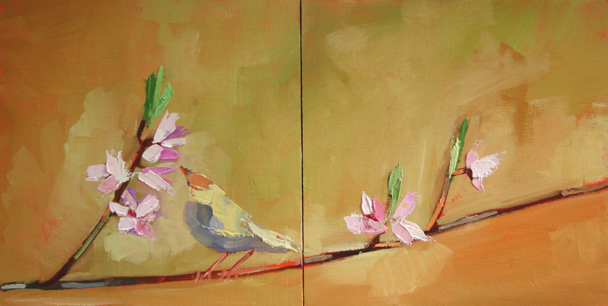 'Soul Inspiration' diptych  (large view)