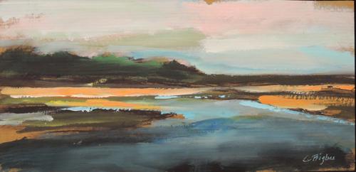 """""""Salt Marsh River"""" Ogunquit ME (large view)"""