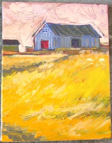gray barn