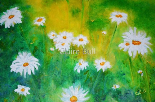 Delightful Daisies by Claire Bull