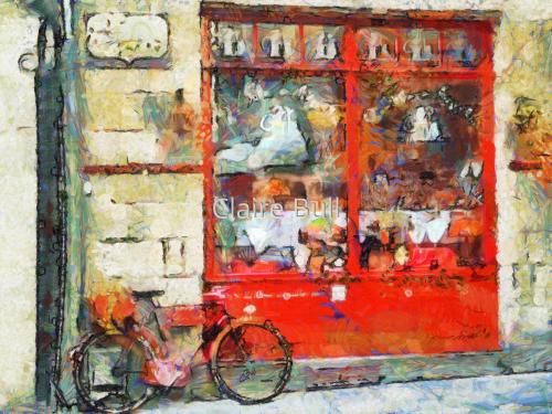Vintage Red Shop