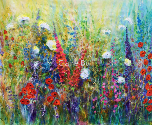 Meadow Flowers for You by Claire Bull