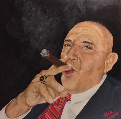 El Rey con Cigaro