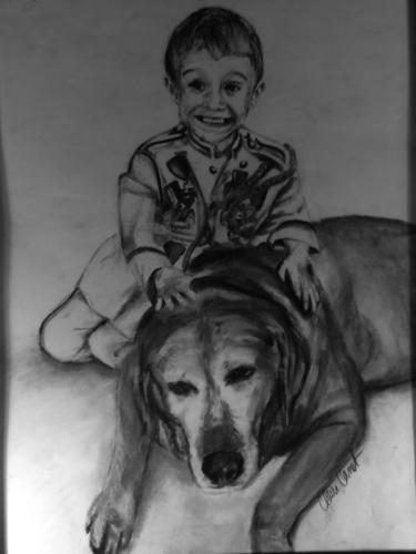 El Rey Chiquito con Perro