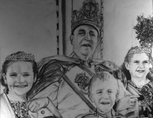 El Rey con Niños
