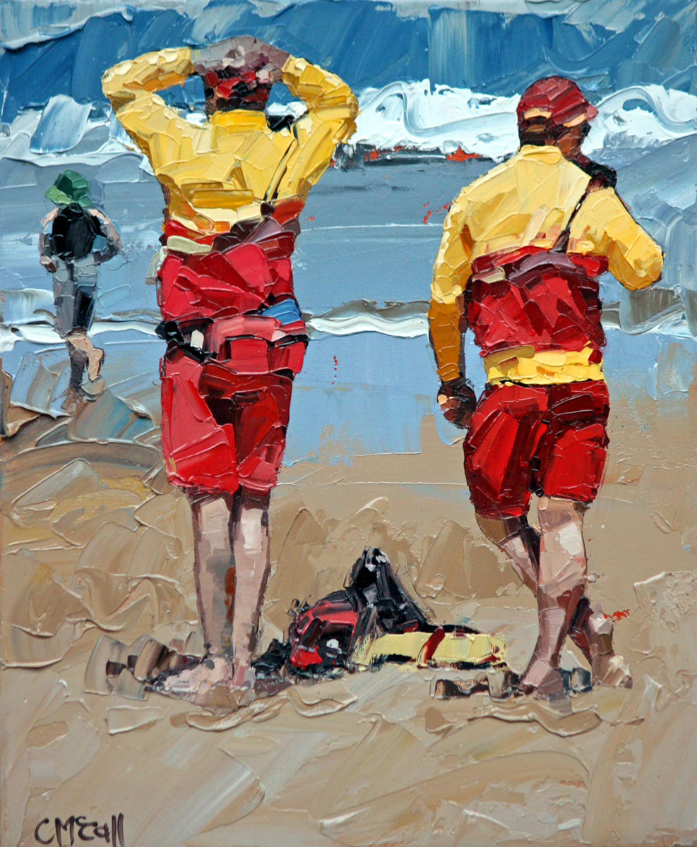 Two Lifeguards (large view)