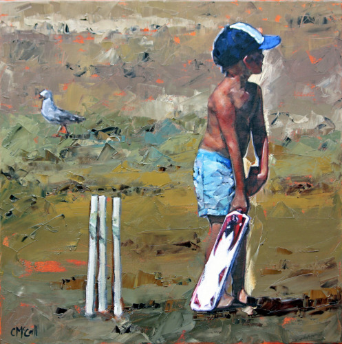 The Beach Cricketer