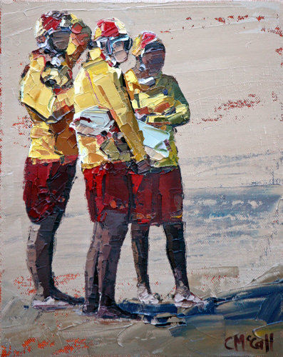 Three Lifeguards