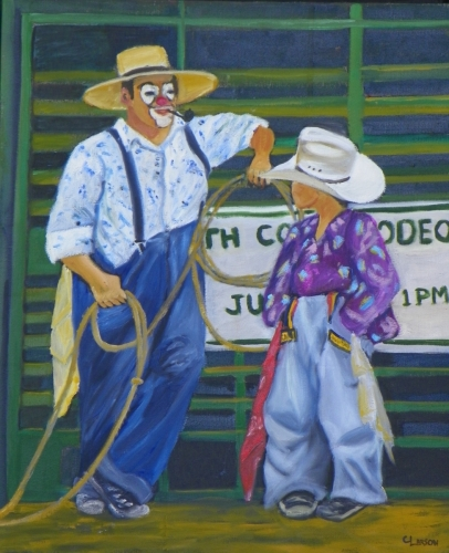 Rodeo Clown Lessons #1