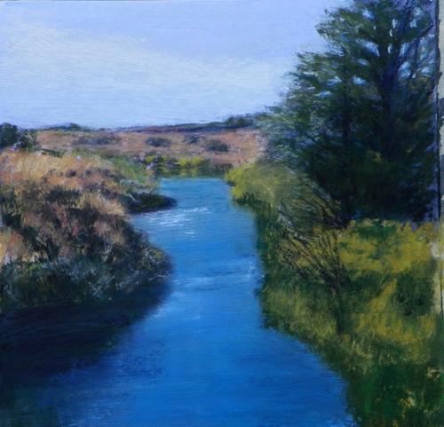 Coastal Slough by Cora Larson
