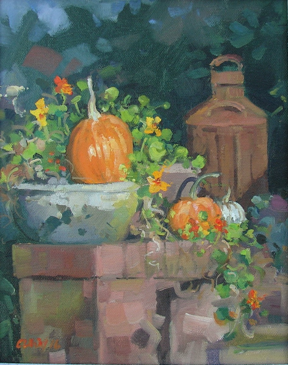 Pumpkins on The Porch (large view)