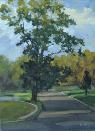 Mainland Oak Tree (large view)