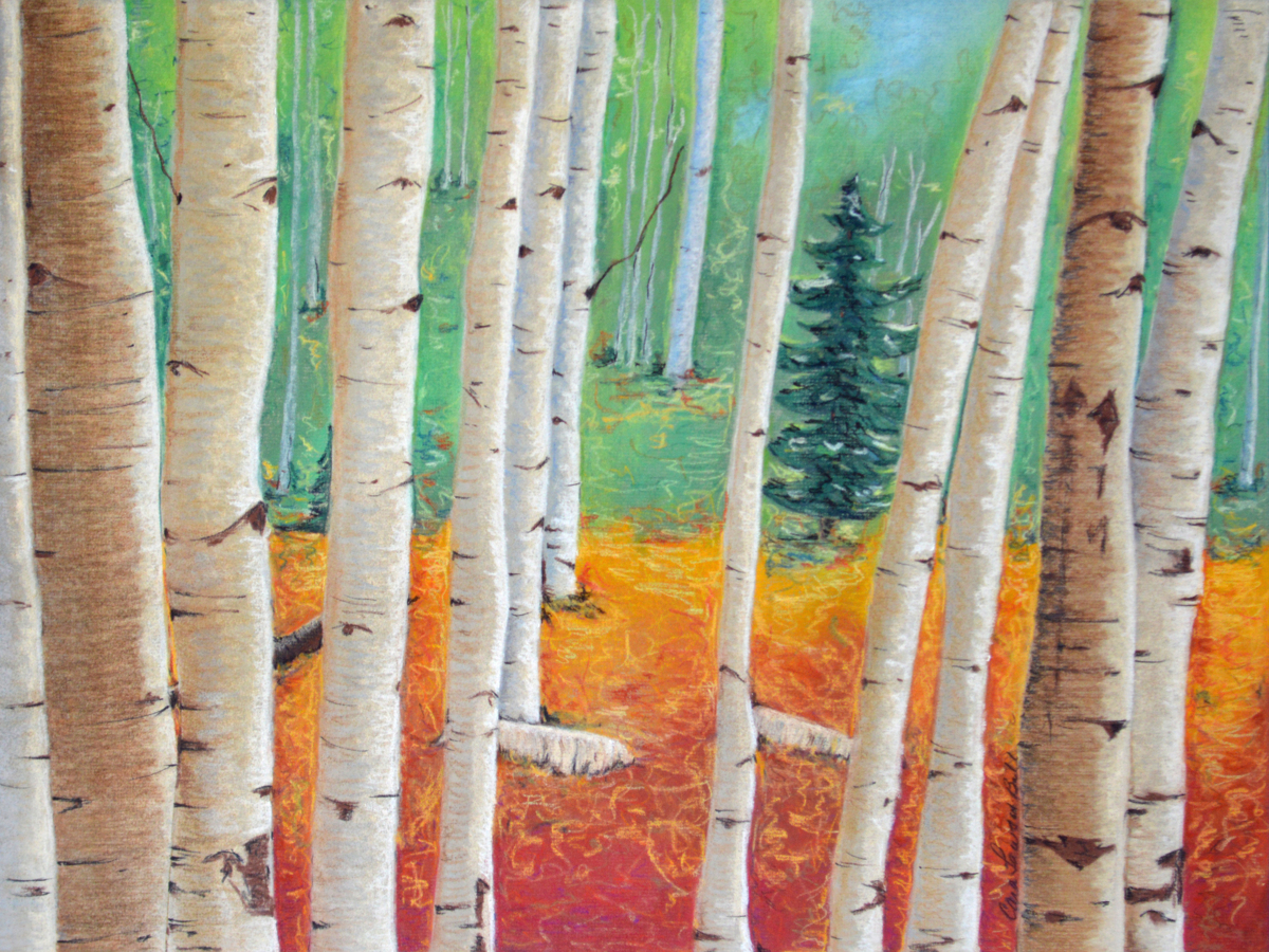 Birches (large view)
