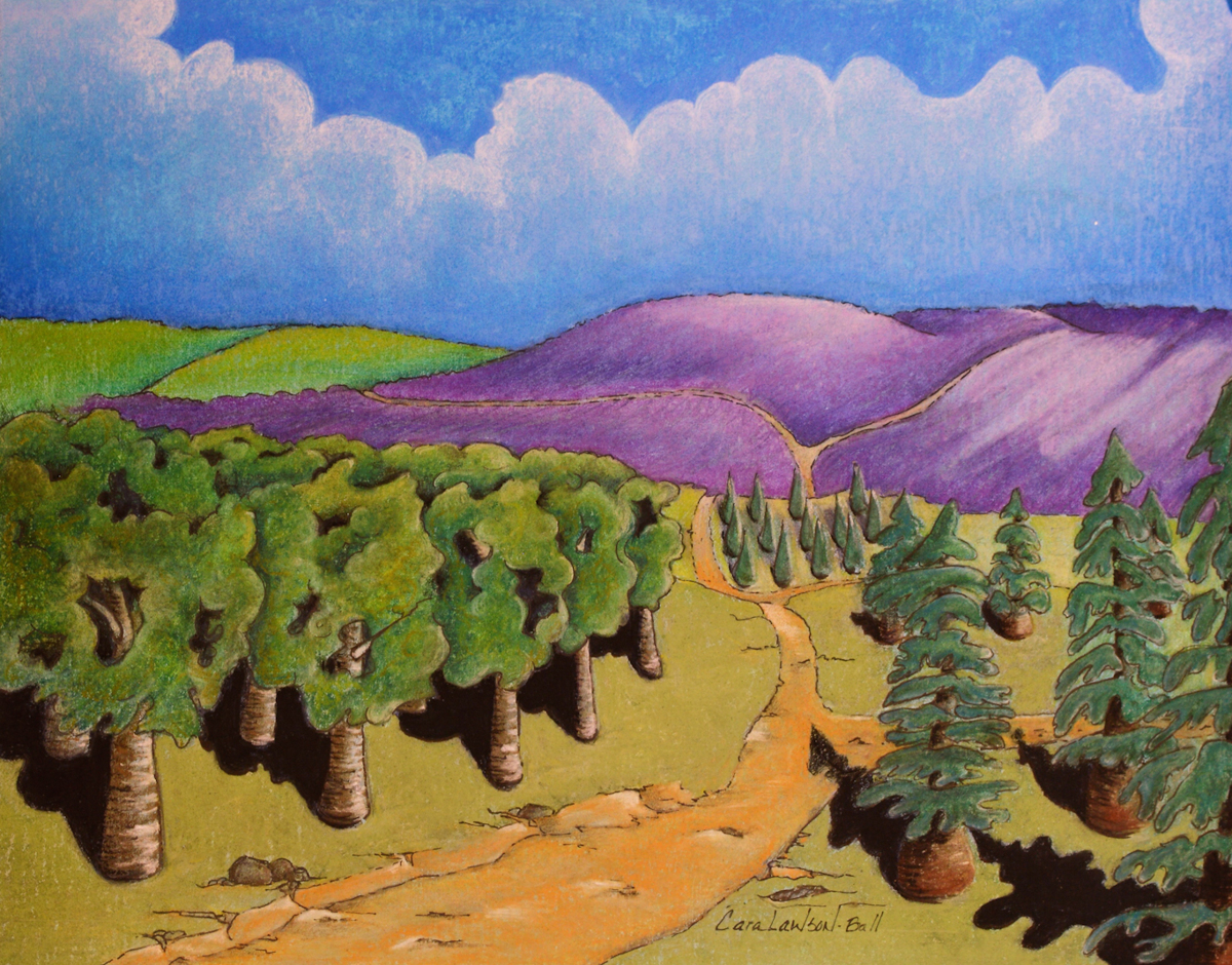 Great Lavender Fields (large view)