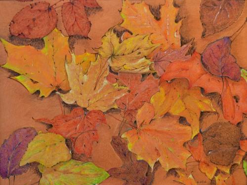 October by Cara Lawson Ball