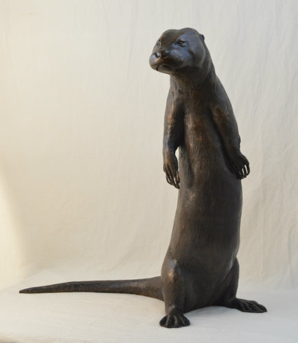 River Otter by Cara Lawson Ball