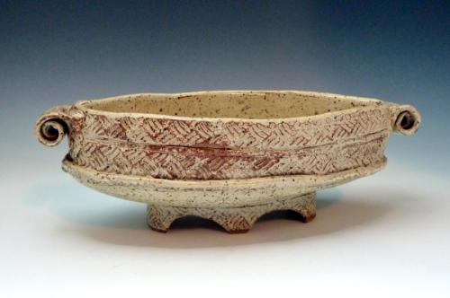 Oval serving bowl (large view)