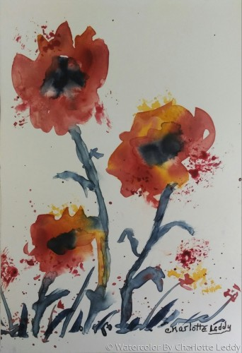 Loose and Lovely by Watercolor By Charlotte Leddy
