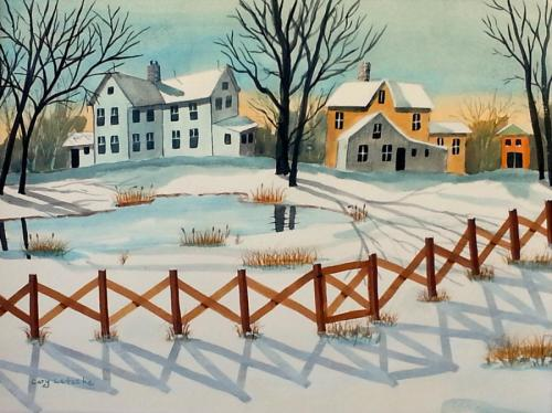 Country Winter Snowscape