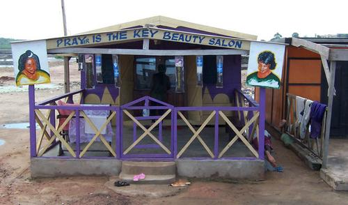 Prayer is the key Beauty Salon