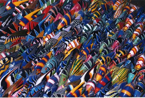 Tingatinga Fish
