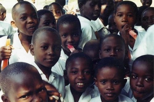 Children at Changanikeni