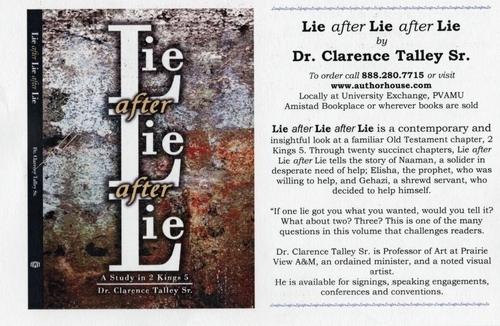 Lie after Lie after Lie