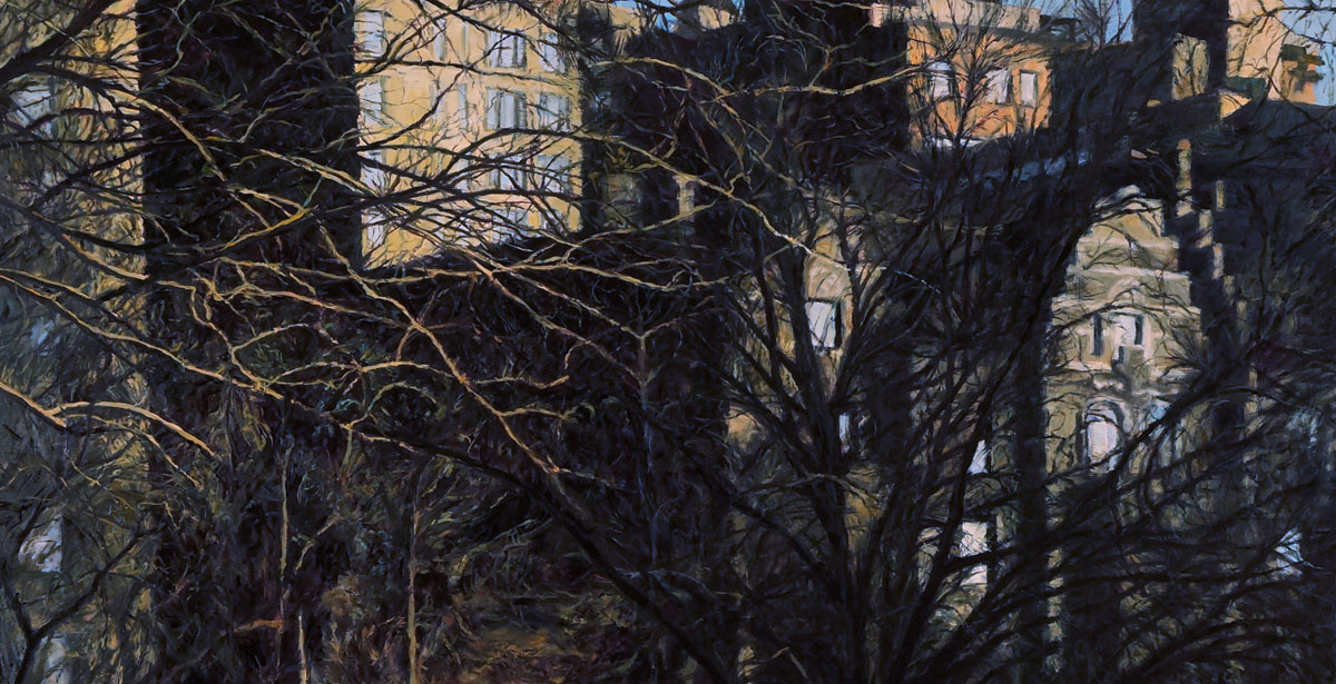City Through the Trees (large view)