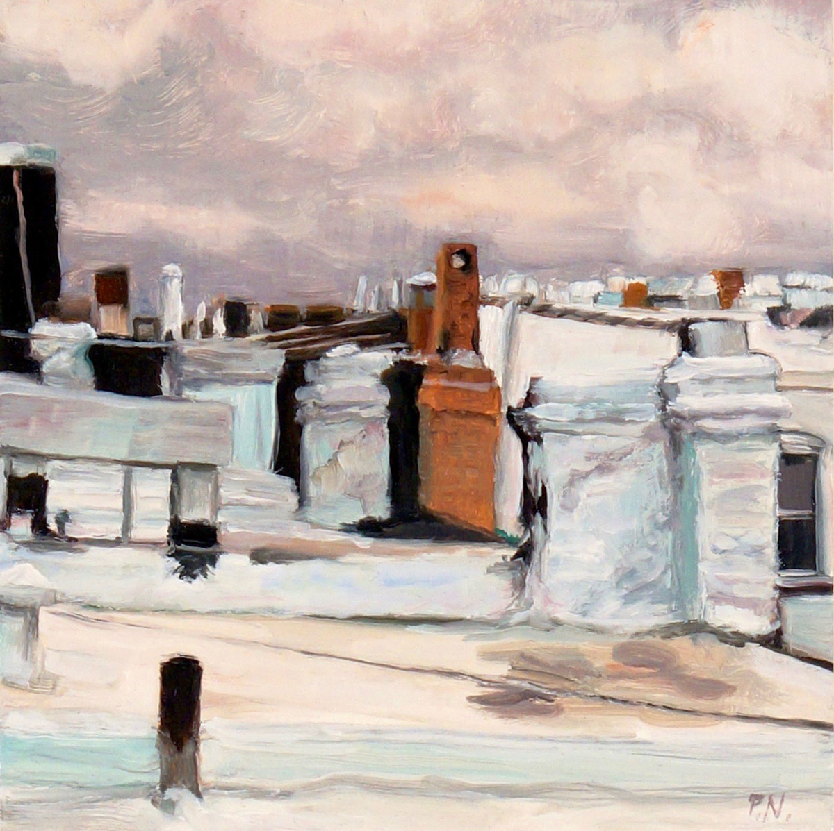 Brooklyn Rooftops (large view)