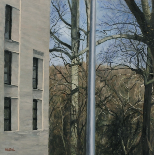 Building/Trees/Pole (large view)