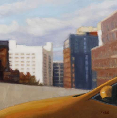 Brooklyn Taxi by Patty Neal